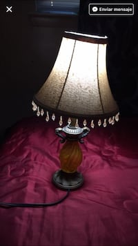 glass lamp base with lampshade Dallas, 75228