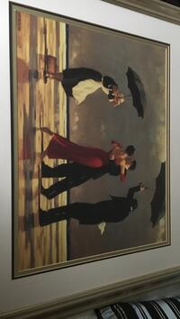 man and woman dancing painting with white wooden frame Revere, 02151