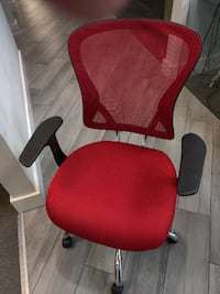 Red Office Chair MIAMI