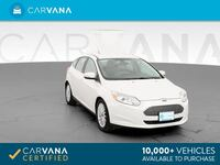 2013 Ford Focus hatchback Electric Hatchback 4D White
