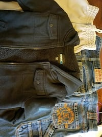Boys size 7 jeans, shorts and sweatshirt