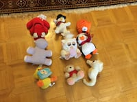 Bunch of stuffed animals. Toronto, M1T 3S1