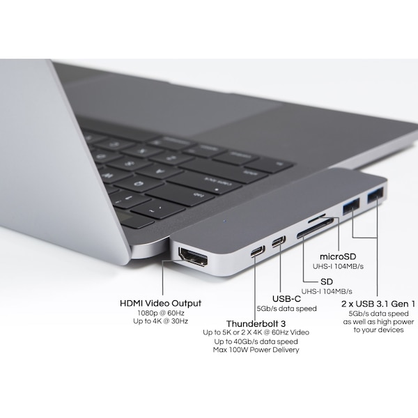 Orijinal HyperDrive Hub Thunderbolt 3 7in1 for MacBook Pro Touch Bar 8a963a7a-f4ee-4e58-8cd8-a3e972ef3f08