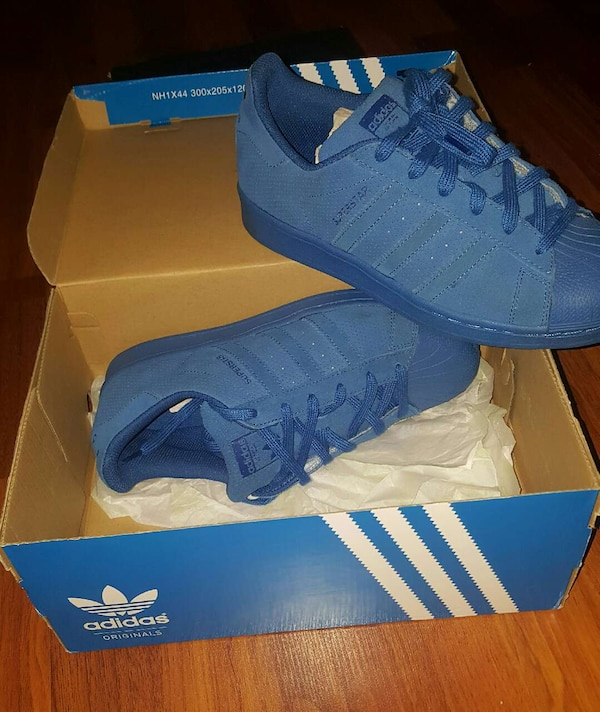 9b798a14de0 Used pair of blue Adidas Superstar size 7 for sale in Pembroke Pines - letgo