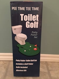 Brand new toilet golf potty putter Toronto, M9P 3C5