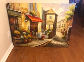 Beautiful canvas painting.