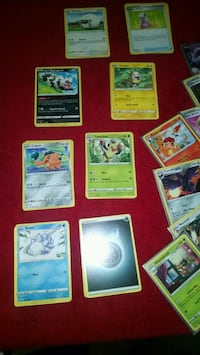 Pokemon sword and shield card lot