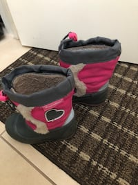 Winter boots size 5 Montreal, H1J 1G2