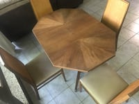 rectangular brown wooden table with chairs Arlington, 22203
