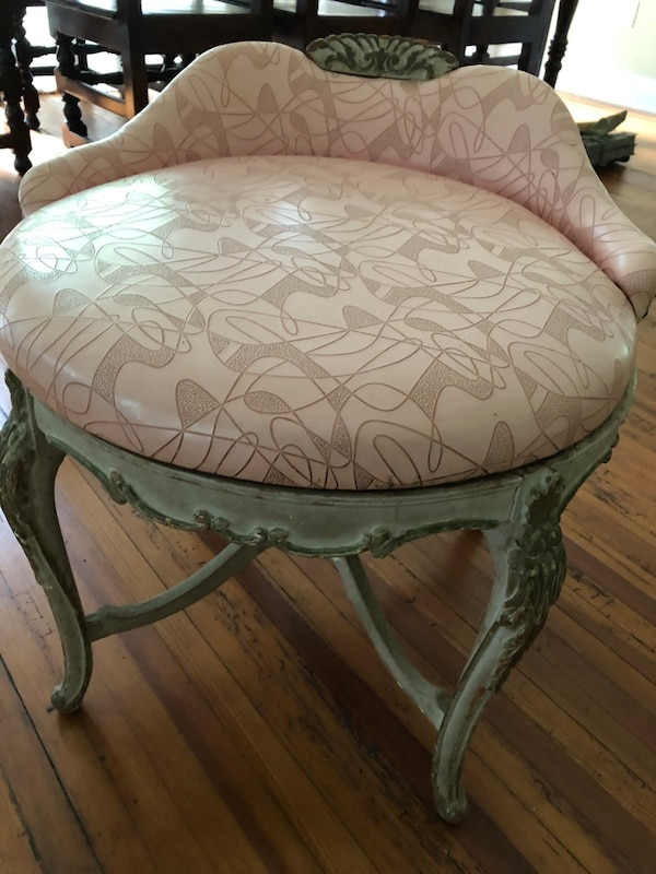 Awe Inspiring Antique French Provincial Vanity Stool All Original Cove Unemploymentrelief Wooden Chair Designs For Living Room Unemploymentrelieforg