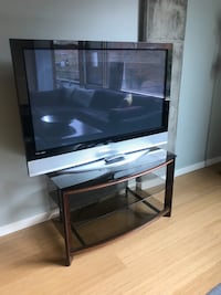 Flat screen TV & stand