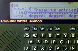Franklin Language Master Lm 4000 - Pronouncing Dictionary/ Thesaurus