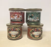Candles All 4 for $25 Home Decor Fall Winter Kitchen Christmas Edmonton, T6H 3T9