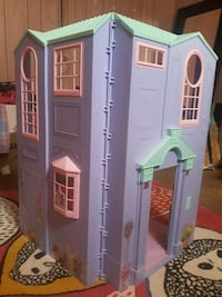purple, pink, and teal dollhouse playset Edmonton, T5A 2A9