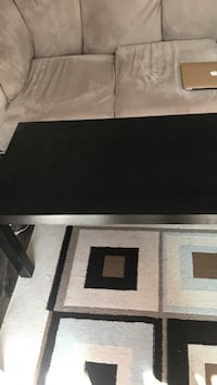Rectangular black wooden coffee table Nanaimo, V9R
