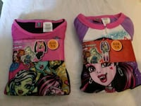 two assorted-color Monster High graphic shirts Manteca, 95337
