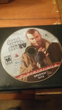 sony ps3 gta iv game
