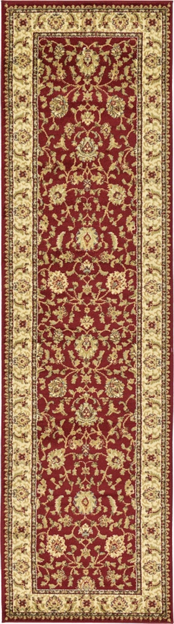Brand new carpet runner size 3x10 nice red rug runners  8744f884-ccdf-4972-b135-ede17b4bc70a