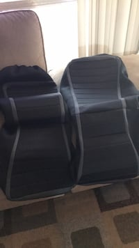 Waterproof car seats perfect condition. Had them for my Honda HRV but they are Standard Fit for most small cars like Honda, Toyota, etc. Mililani, 96789