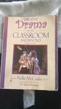 Creative Drama in the Classroom and Beyond 8th Edition Columbia, 21045