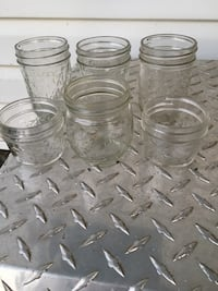 Canning jars. $5 a dozen for quarts. $4 a dozen for pints. i meet at sheets on 522 n. Winchester, 22603