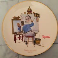 Collectors 1978 Norman Rockwell Plate Toms River, 08755