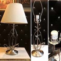 two white and black table lamps Moreno Valley, 92557