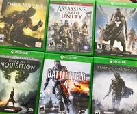 XBOX ONE SET OF 7 GAMES ONLY $40 Fredericksburg, 22401