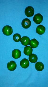 Large green wood beads Los Angeles, 90026