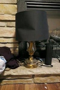 black and gray table lamp Bowmanville, L1C 3M3