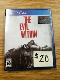 The Evil Within PS4 Green Bay, 54304