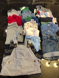 I have boxes of baby boy clothes 3mo - 24 mo $1 an item ... come by and shop! Richmond Hill, L4C 6K2