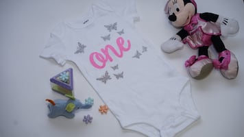 New First Birthday Glitter Outfit