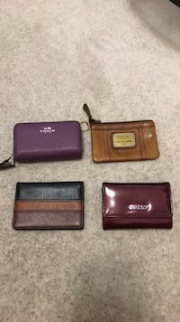 Coach, Fossil, Guess Wallets Mississauga, L5M 0G6