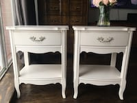 Delivery - pair of antique French country night stands  Toronto, M9B 3C6