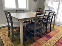 Design Evolution Dining Table and chairs