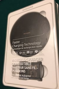 Original Samsung Wireless Fast Charger *New Version and Sealed Box* Milton, L9T 0Y6