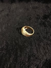 Gold plated ring. Size 6 Seneca, 29672