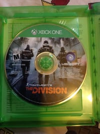Tom Clancy's The Division Xbox One game disc Las Vegas, 89128