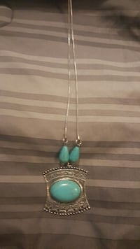 Silver & Turquoise necklace from cavenders Princeton, 75407