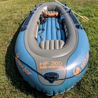 Inflatable fishing boat, oars & air pump included Vine Grove, 40175