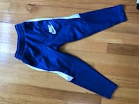 Blue and white nike sweat pants Vancouver, V5N 3W6