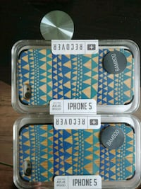 2 iphone cases for sale in the color blue Fort McMurray, T9H