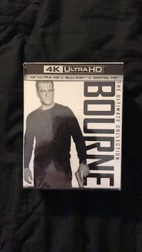 Bourne The Ultimate Collection 4k blu ray Vienna, 22180