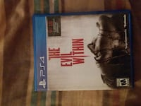 """PS4 """"The Evil Within"""" game Woodbridge, 22193"""