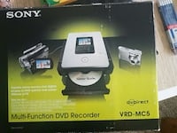 sony multi-function dvd recorder vrd-mc5 box Surrey