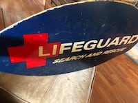 Christmas gift surf board for the lifeguard in your family. Martinsburg, 25403