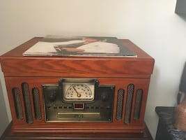 Vintage record player in perfect condition
