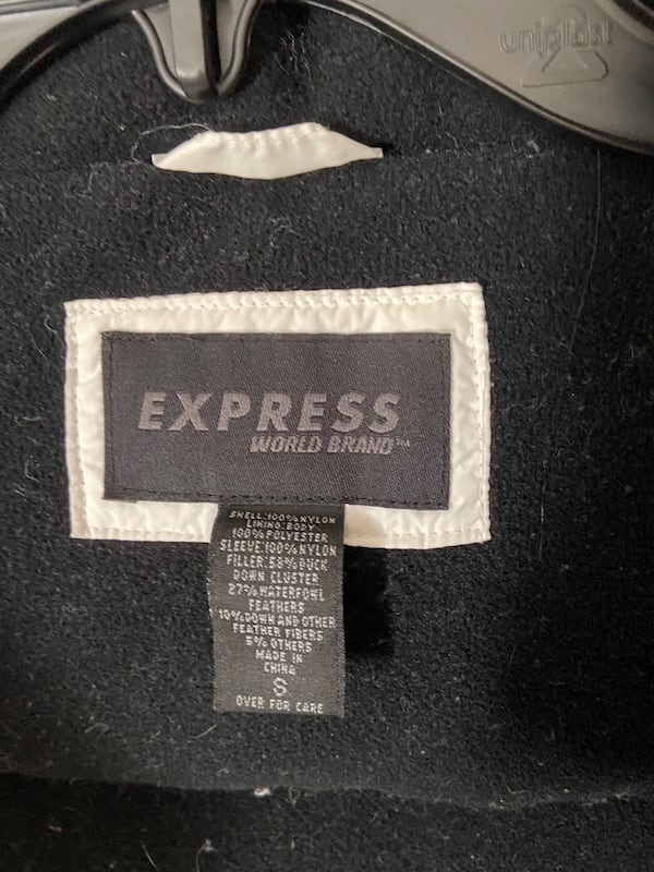 Express down coat size S 1a050711-32c3-4098-bf06-0d657669748a