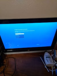 HP pavilion 23 all-in-one PC with touch screen